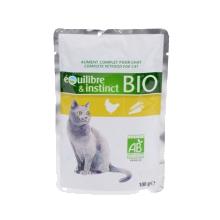 da9b00c79fdbe Pâté pour chat - Equilibre   Instinct - Naturelle   Bio - Sachet Fraîcheur
